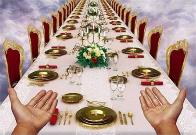 Le festin obligé dans Communauté spirituelle noces
